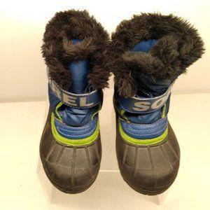 SOREL Snow rain winter boots KIDS Size 9